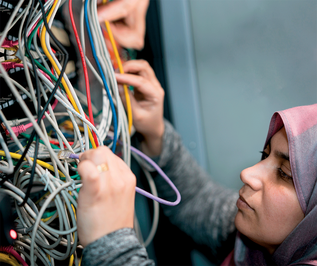 Creating a Tech Community to Aid Refugees in Crisis